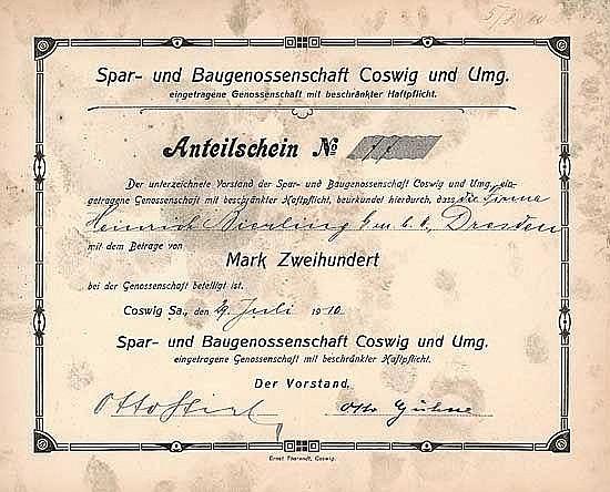 Spar- und Baugenossenschaft Coswig und Umg. eGmbH