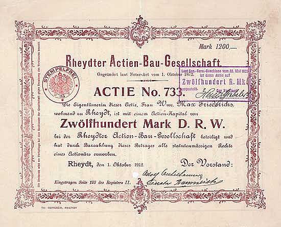 Rheydter Aktien-Bau-Gesellschaft
