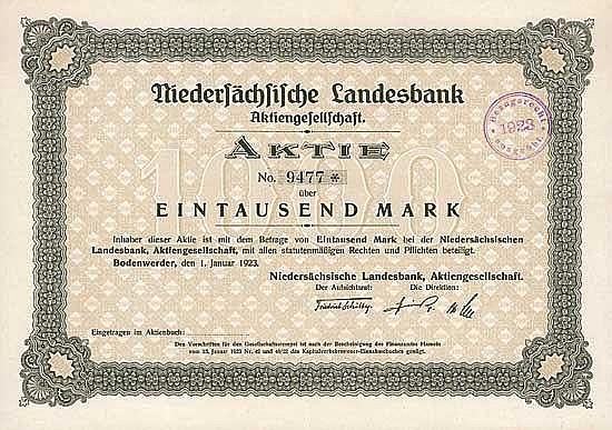 Niedersächsische Landesbank AG