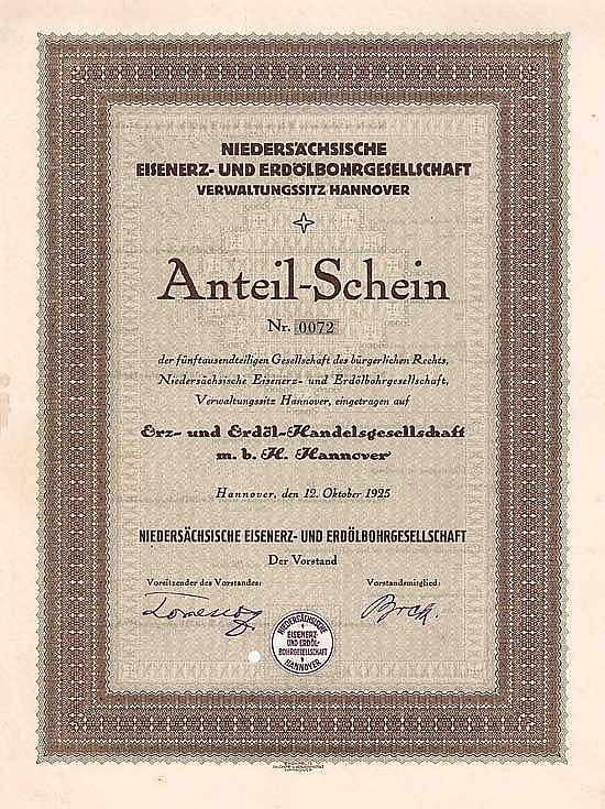 Niedersächsische Eisenerz- und Erdölbohrgesellschaft