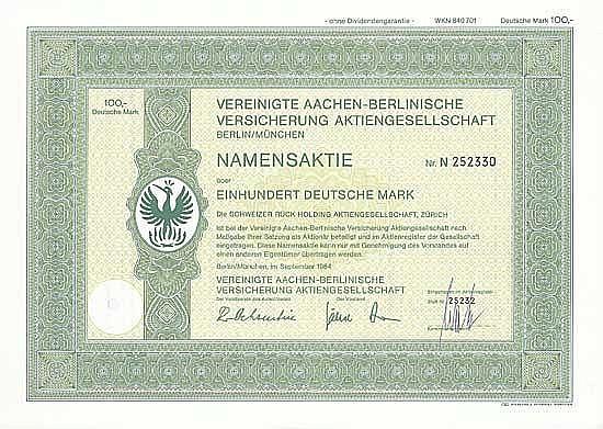 Vereinigte Aachen-Berlinische Versicherung AG