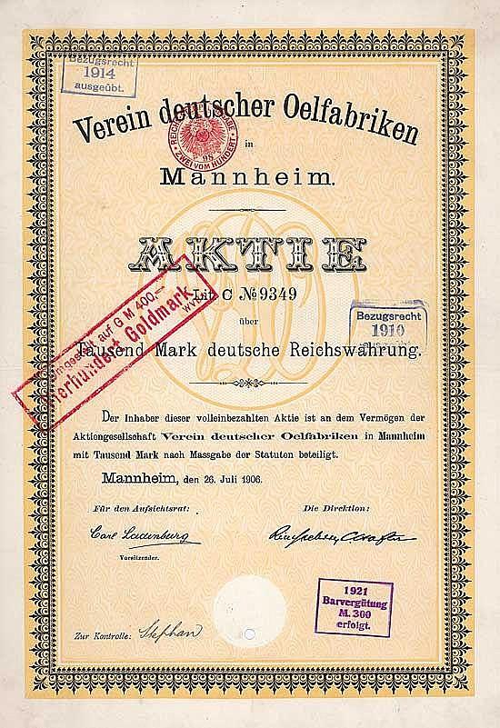Verein deutscher Oelfabriken
