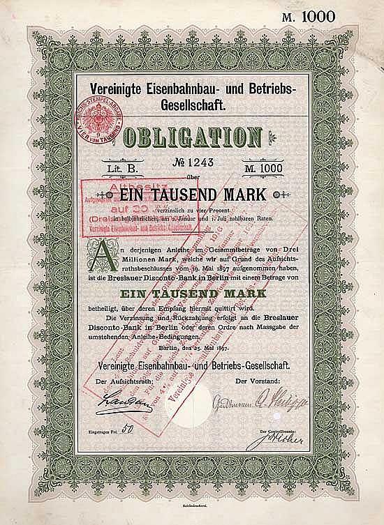 Vereinigte Eisenbahnbau- und Betriebs-Gesellschaft