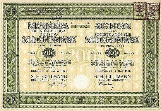 S.H. Gutmann AG