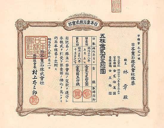 Nihon Omoshi KK (Japan Gewichts AG)