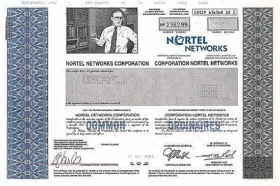 Nortel Networks Corp.