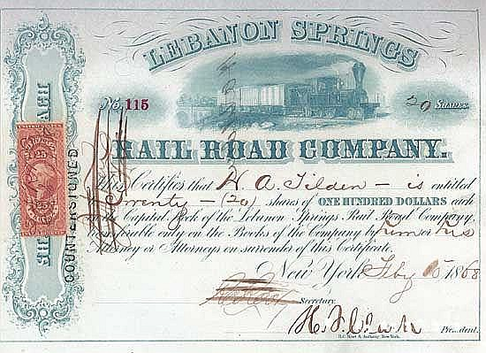 Lebanon Springs Railroad