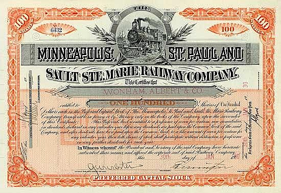 Minneapolis, St. Paul & Sault Ste. Marie Railway