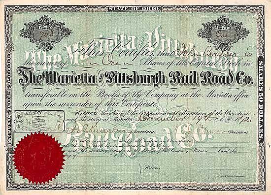 Marietta & Pittsburgh Railroad