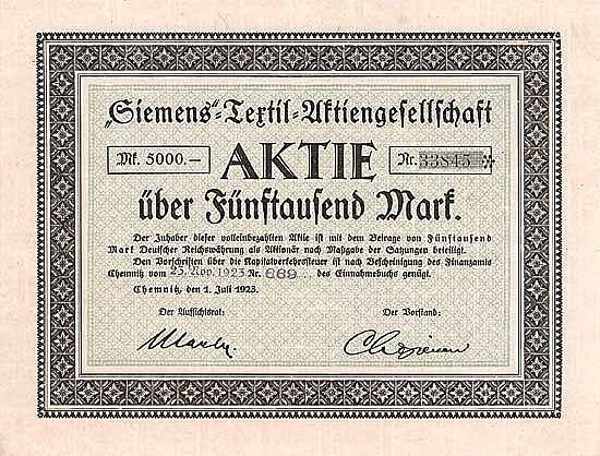Siemens-Textil-AG