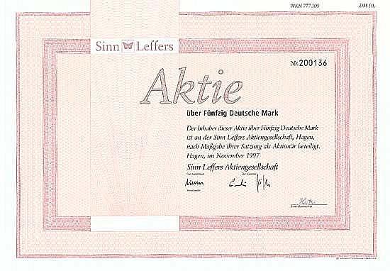 Sinn Leffers AG