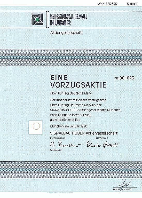 Signalbau Huber AG