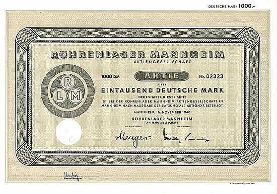 Röhrenlager Mannheim AG