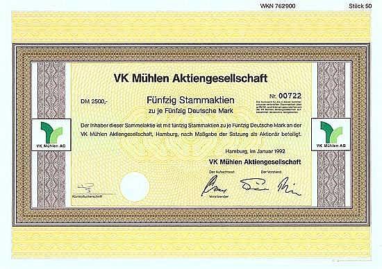 VK Mühlen AG