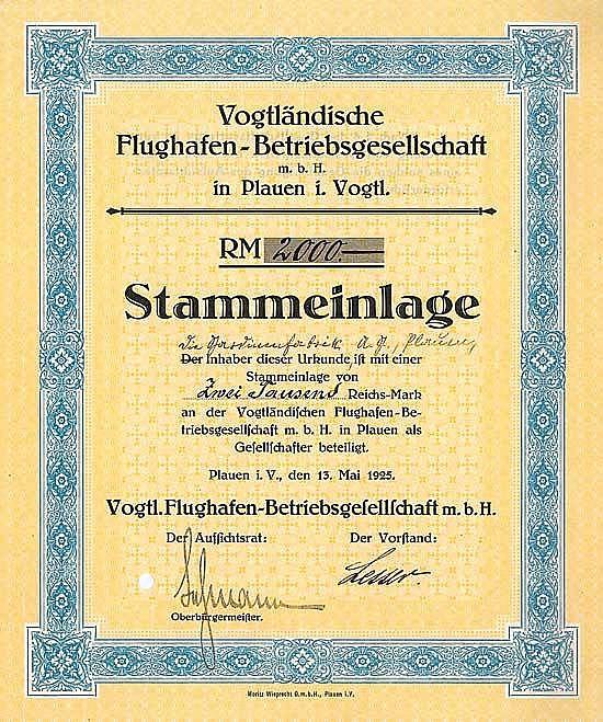Vogtländische Flughafen-Betriebsgesellschaft mbH