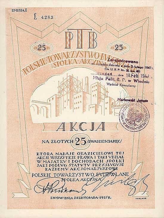 PTB Polskie Towarzystwo Budowlane S.A.