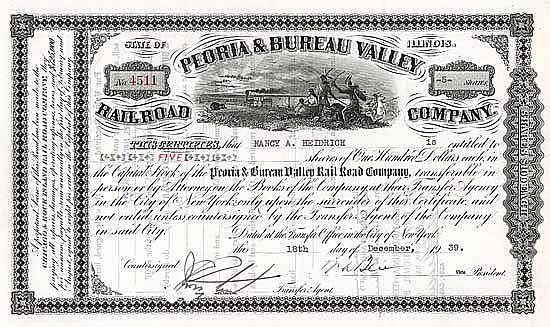 Peoria & Bureau Valley Railroad