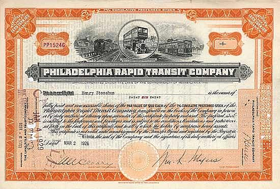 Philadelphia Rapid Transit Co.