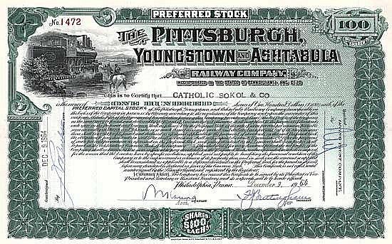 Pittsburgh, Youngstown & Ashtabula Railway