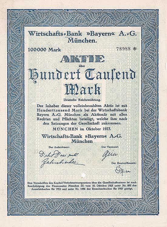 Wirtschafts-Bank Bayern AG