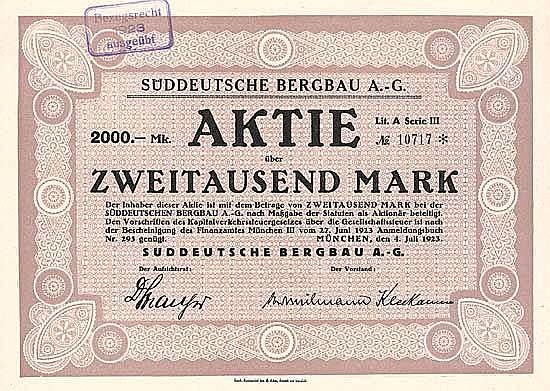 Süddeutsche Bergbau AG