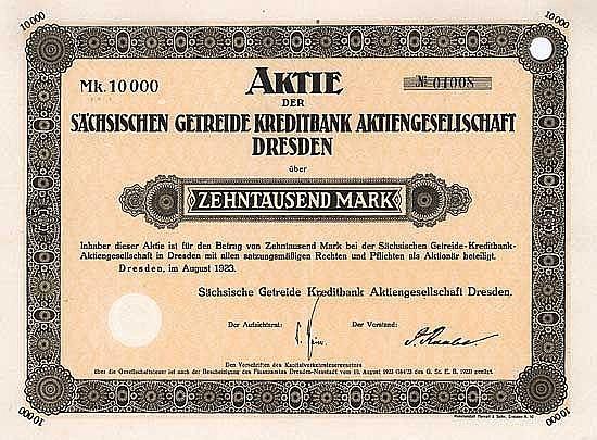 Sächsische Getreide Kreditbank AG