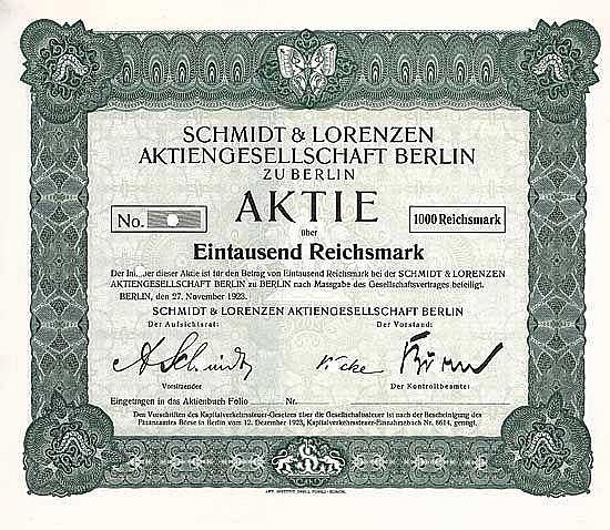 Schmidt & Lorenzen AG