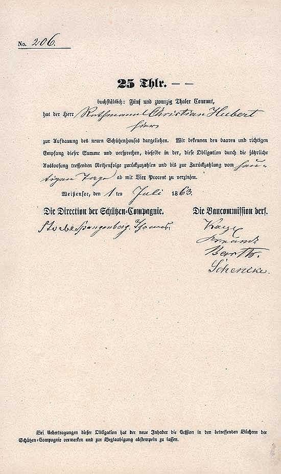 Schützen-Compagnie Weißensee