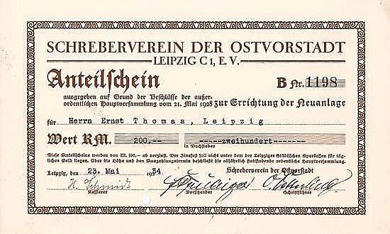 Schreberverein der Ostvorstadt Leipzig C1 e.V.