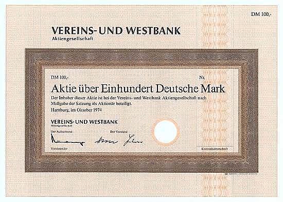 Vereins- und Westbank AG