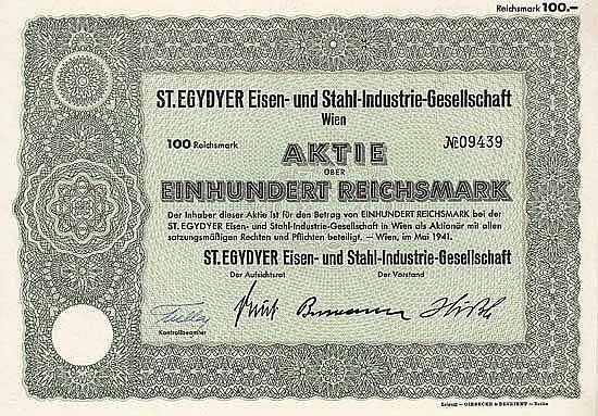 St. Egydyer Eisen- und Stahl-Industrie-Gesellschaft