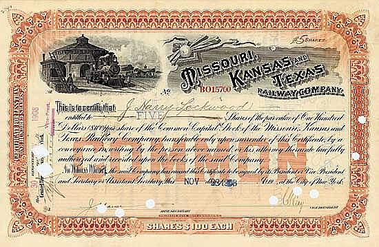 Missouri, Kansas & Texas Railway