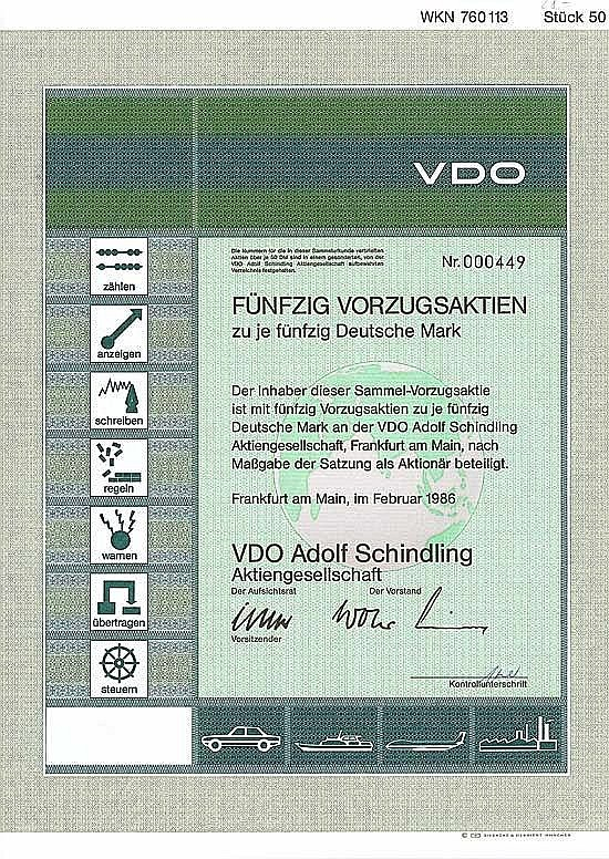 VDO Adolf Schindling AG