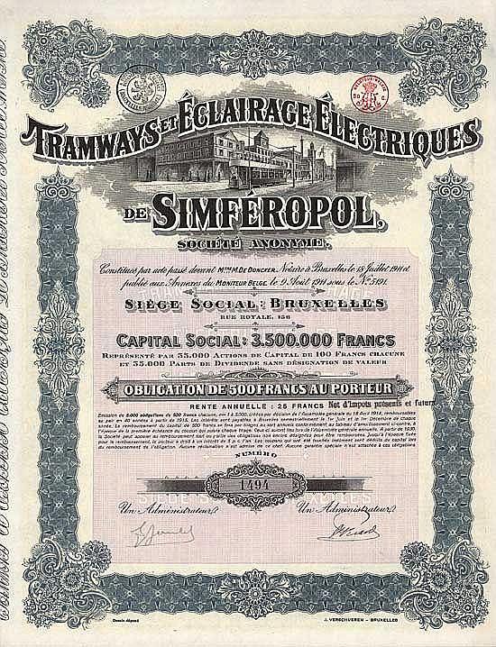 Tramways et Éclairage Électriques de Simféropol S.A.