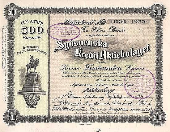 Sydsvenska Kredit AB
