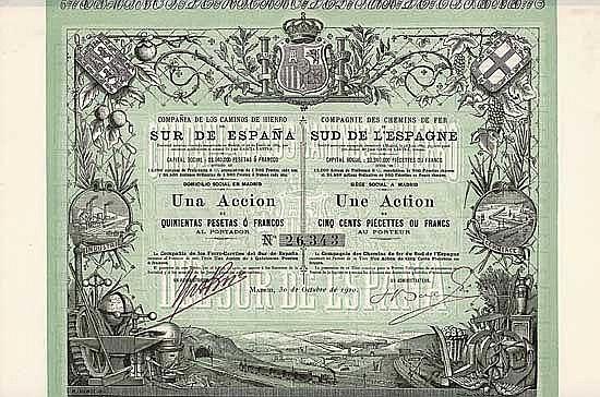 Cie. des C. d. F. du Sud de l'Espagne