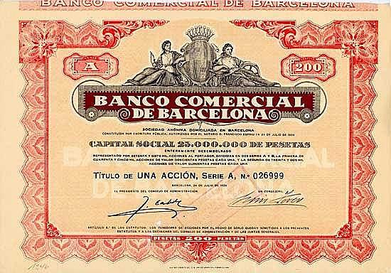 Banco Comercial de Barcelona S.A.