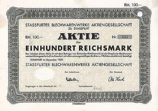 Stassfurter Blechwarenwerke AG