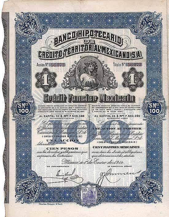 Banco Hipotecario de Crédito Territorial Mexicano S.A.