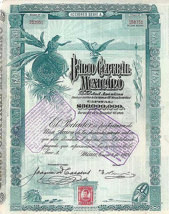 Banco Central Mexicano S.A.