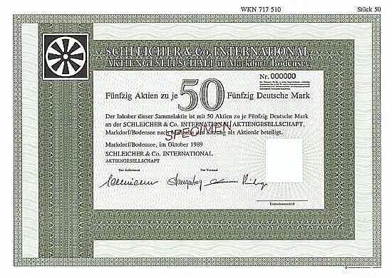 Schleicher & Co. International AG