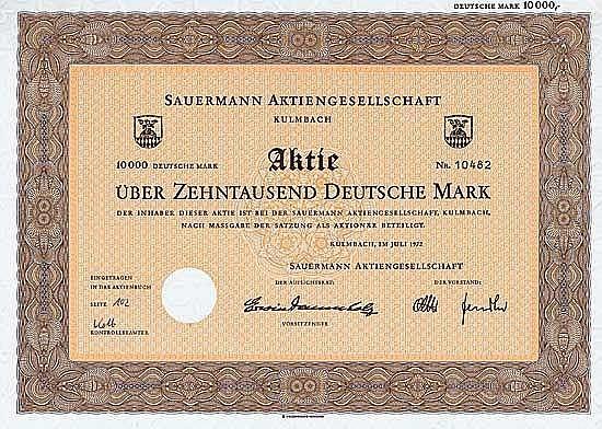 Sauermann AG