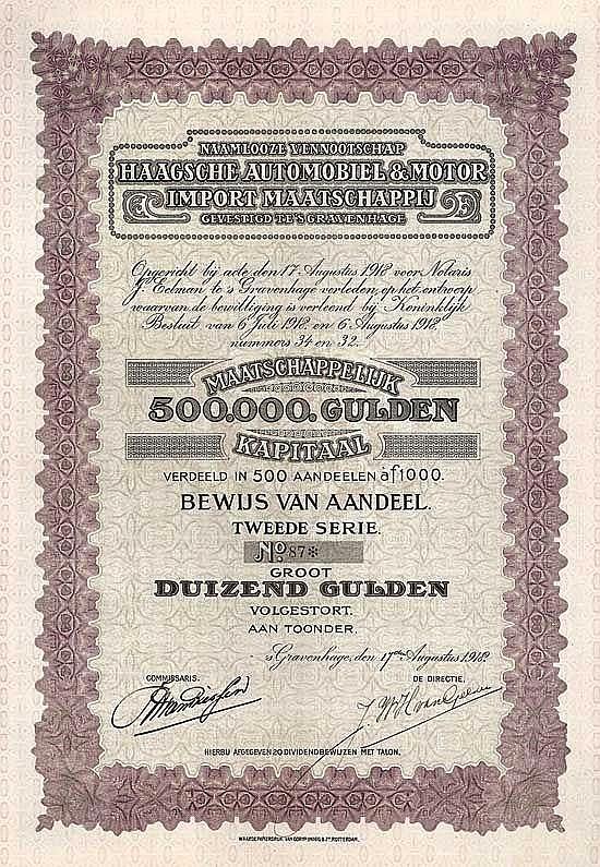 N.V. Haagsche Automobiel & Motor Import Maatschappij