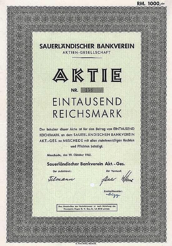 Sauerländischer Bankverein AG