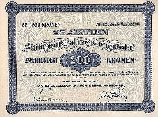 AG für Eisenbahnbedarf