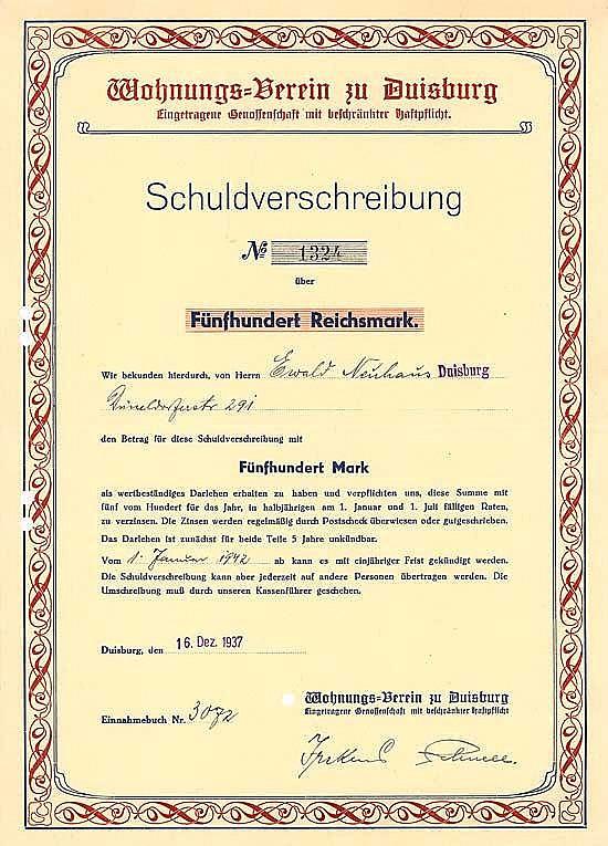 Wohnungs-Verein zu Duisburg eGmbH