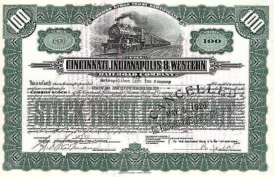 Cincinnati, Indianapolis & Western Railroad