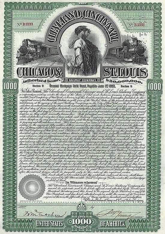 Cleveland, Cincinnati, Chicago & St. Louis Railway