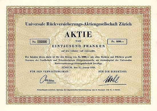 Universale Rückversicherungs AG