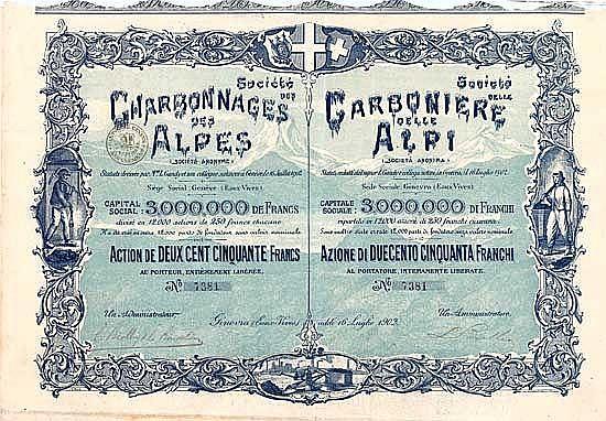 Soc. des Charbonnages des Alpes